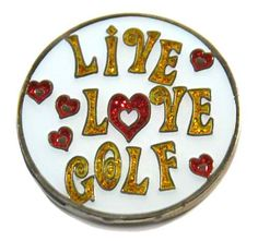 Day 6 of Lori's Golf Shoppe 25 Days of Christmas Giveaways! Today's giveaway is a Navika Live Love Golf Ball Marker and Hat Clip. Like or comment on our facebook status for a chance to be our lucky winner! Click away to join! Good luck!