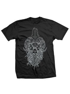 "Men's ""Tongue Tied"" Tee by Justin Harris for Black Hope Curse (Black) #inkedshop #graphictee #fashion #top #design #tshirt #art"