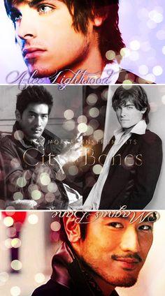 Alec x Magnus <3 I love them!