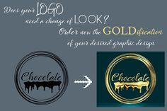 Transform your logo into a golden one in just a second! Contact me via inbox before ordering! Digital Design | Graphic Design | Gold 3D Logo | Gold Logo | 3D Logo | Glamorous Logo | Shiny Logo | Modern Logo | Professional Logo | Premium Logo