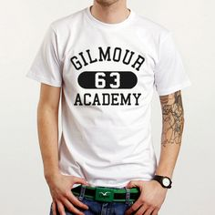 Pink Floyd's David Gilmour 63 Memorable Academy White T-Shirt Tee Size XS-XXL