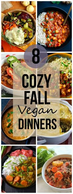 8 Cozy Fall Vegan Dinners [Roundup]