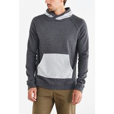 BDG Colorblock Pullover Hooded Sweatshirt ( 34) ❤ liked on Polyvore  featuring mens c7e1cafc5af