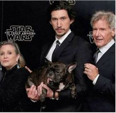 La familia real de Star Wars