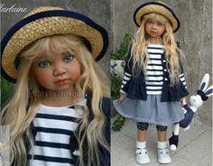 ANGELA SUTTER DOLL MARLAINE - artist doll by Angela Sutter