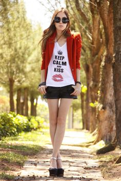 Ville Rose tee