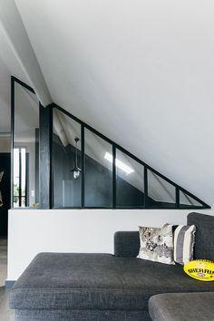 Nuances de bleu & style industriel - FrenchyFancy Camille Hermand Architectures Photo : Jennifer Sath