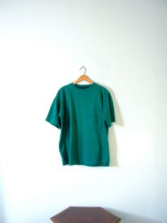Vintage 90's teal shirt American Eagle size large by manorborn