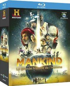 Mankind, La grande histoire de l'Homme en BLU-RAY - NEUF