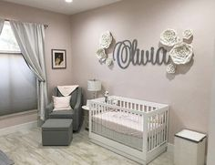 Hello millennial Dads & Moms, we all understand that every parent in worldwide wants to prepare the best for their prospective baby. Starting from primary needs such as baby clothes, toys, and even nursery room decor ideas. Baby Girl Nursery Decor, Nursery Room Decor, Baby Decor, Ballerina Nursery, Girl Bedroom Walls, Baby Bedroom, Girl Room, Room Baby, Baby Olivia