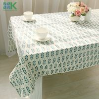 2016 Summer new Korean fresh and high-quality household linen tablecloths table cloth cover towel Hot sale foreign trade table c