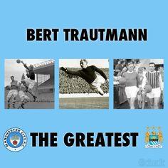 Bert Trautmann wallpaper - Manchester City's greatest goalkeeper #legend #mcfc