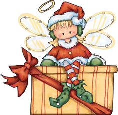 CHRISTMAS ANGEL CLIP ART