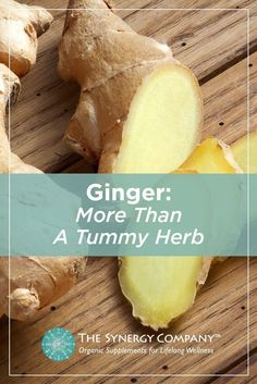 """Learn more about the uses of ginger! Ginger effectively eases and strengthens digestion, supports a healthy inflammation response, and enhances overall well-being. Optimize your health with this world-renowned """"universal healer""""."""