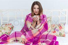 Výsledek obrázku pro woman with blanket