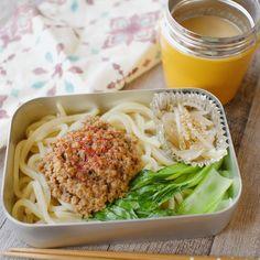ねぼすけの坦々うどん弁当 Sunday Dinner Recipes, Potatoes In Microwave, Girl Cooking, Kawaii Cooking, Healthy Cooking, Healthy Life, Japanese Dishes, Japanese Food, Korean Food