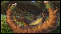 """Madagascar: Escape 2 Africa"" concept art by Kory Heinzen"