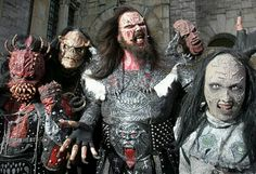 Lordi Music Clips, Rock Music, Hard Rock, Heavy Metal, Halloween Face Makeup, Alternative Music, Finland, Bands, Women