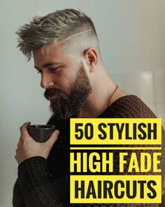 50 Stylish High Fade Haircuts for Men You are in the right place about mens hairstyles fade Here we offer … Trendy Haircut, Trendy Mens Haircuts, Haircut Men, Haircut Styles, High Skin Fade, Medium Hair Cuts, Short Hair Cuts, Short Hair Styles, Haircut Medium