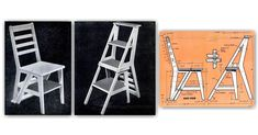 Ladder Chair Plans - Furniture Plans and Projects | WoodArchivist.com