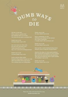 Dumb ways 2 die