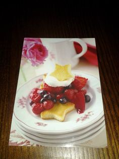 Postikorttirinki #1 Tammikuu 2015 Waffles, Breakfast, Cake, Desserts, Food, Morning Coffee, Tailgate Desserts, Deserts, Kuchen