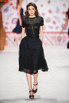 Lena Hoschek, SS16, Amelie top, Romance skirt.