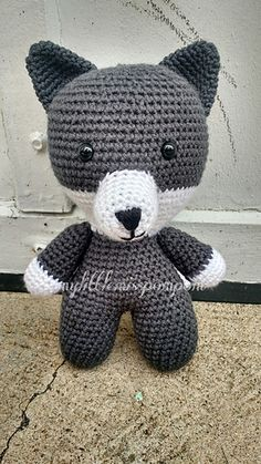 Ravelry: Wolf Parts for Big Headed Doll pattern by Amber Whitehead