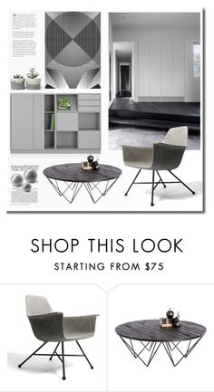 """""""Grey Day"""" by snowbell ❤ liked on Polyvore featuring interior, interiors, interior design, home, home decor, interior decorating and Sunpan"""