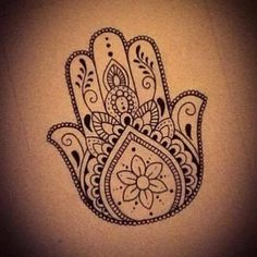 ... Hamsa Tattoo on Pinterest |