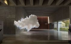 Dutch artist Berndnaut Smilde has been creating clouds in empty rooms and capturing them on camera. Here is one of his stunning 'Nimbus' creations.