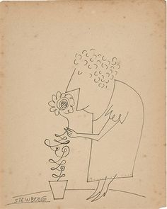 View past auction results for SaulSteinberg on artnet