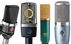 cool The best microphones for a home studio in 2014