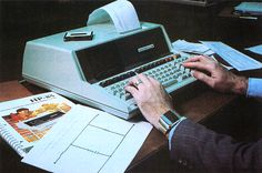 State of Technology, 1980 Hewlett-Packard HP-85 Microcomputer Portable