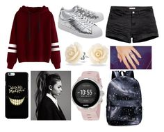 """I'm not sure"" by wingedrabbit ❤ liked on Polyvore featuring H&M, adidas Originals, Bling Jewelry and Suunto"