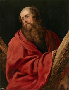 Saint Andrew / San Andrés // 1610 - 1612 // Pedro Pablo Rubens