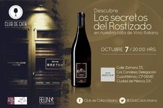#Agenda Cata de vino italiano en bretón / rosticeros el 7 de octubre
