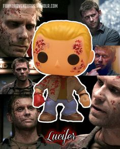 Supernatural Lucifer Custom Funko pop toy by MistyFigs on Etsy << Tbh I don't like it- Funko Pop Toys, Funko Pop Figures, Pop Vinyl Figures, Supernatural Pop Vinyl, Supernatural Fandom, Supernatural Merchandise, Custom Funko Pop, Funko Pop Vinyl, Pop Vinyl Collection