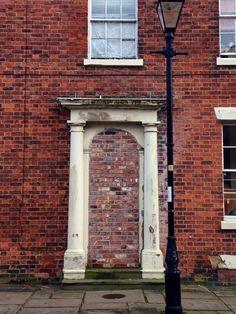 Old door frame