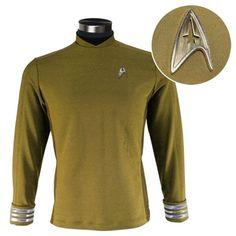 rogeriodemetrio.com: Star Trek: Beyond Kirk Command Gold Tunic