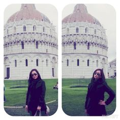 Black outfit - Pisa