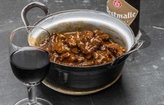 Japchae, Food And Drink, Tasty, Ethnic Recipes, Wine, Belgium, Country, Beef Bourguignon, Rural Area