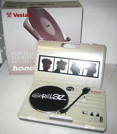 Gorillaz, Demon Days - Vestax Handy Trax Turntable, UK, Promo, Deleted, memorabilia, Vestax, VSTX01, 337701