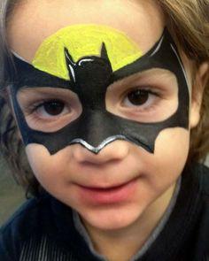 Детский макияж на хэллоуин для мальчиков