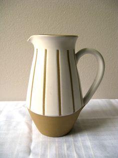 Denby gourmet pattern pitcher. $38