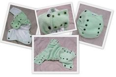 FREE one-size side snapping cloth diaper pattern. Hip Snappy Nappy Pattern.