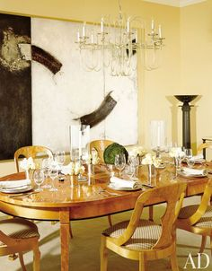 Traditional Dining Room by MAC II in Los Angeles, California