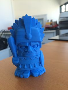 Aztec Chief by Drop3Dfilaments. Based on a design by MakerBot.