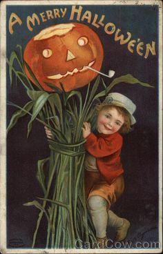 A Merry Halloween with Jack O'Lantern