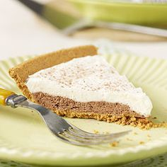 Diabetic Desserts  | Double Chocolate Pudding Pie | MyRecipes.com